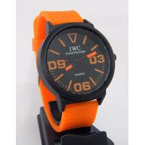 Reloj Pulsera Silicona Para Hombres Diseño Deportivo Colores