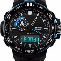 Reloj Dual Sumergible Skmei Calendario Alarma Cronómetro
