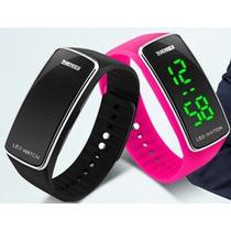 Reloj Led Watch Digital Pulsera Silicona Unisex 5 Colores