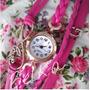 Reloj Cuero Dijes Pulsera Vintage Belka Por Mayor 10 Un!!!!