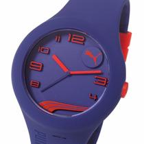Reloj Puma Form Xl Pu103211 50m Wr Resina Silicona