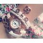 Reloj Cuero Dijes Love Pulsera Colores Vintage Belka!!!!
