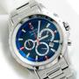 Reloj Bulova Marine Star 96b174 Cronografo Seguro Robo 100m