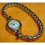Reloj Pulsera Antiguo Dama Suizo Oro 15 Brina Malla Elastiz