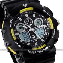 Reloj Deport Cobra,cronómetro,cronógrafo,alarm,sumergib 100m