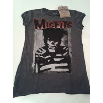 Remera Amplified Vintage Misfits Mujer S Importada