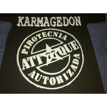 Remera Attaque 77 Karmagedon