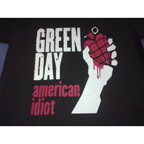 Remera Green Day American Idiot