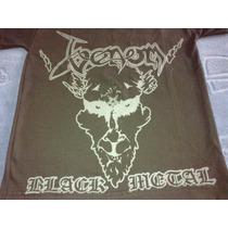 Remera Venon Black Metal