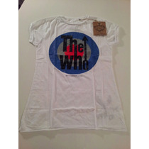 Remera Amplified Vintage The Who Importada Mujer Retro L