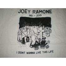 Remera Ramones Vintage Joey Ramone
