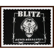 Blitz - Remera Punk Rock- Oi- Cock Sparrer - Cockney Rejects