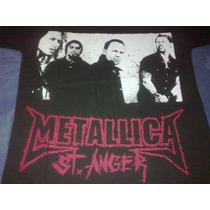 Remera Metallica St Anger