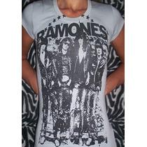 Remera Ramones Para Mujer