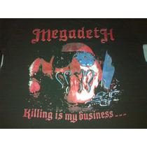 Remera Megadeth