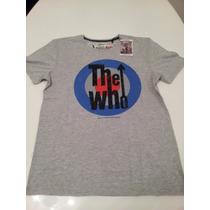 Remera Amplified Vintage The Who Importada Hombre Retro S