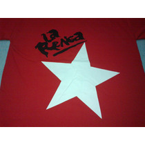 Remera La Renga Roja