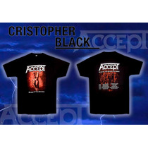 Remera Oficial - Accept - Blood Of The Nations Tour 2011