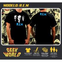 Remeras Rock - R.e.m - Geekworld Rosario!