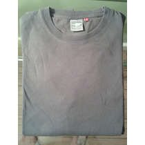 Remera Gris Rever Pass - Talle S