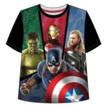 Remera Vengadores Capitan America Hulk Marvel - Mundo Manias