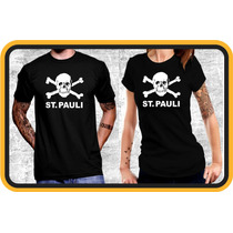 Remera St Pauli,alemania,punk Rock,camiseta,futbol