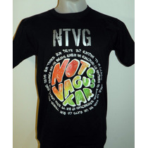 Remera Ntvg Notevagustar Bandas Metal Rock Nueva