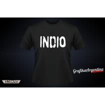 Remeras Indio Solari Gualeguaychú 12 De Abril!!