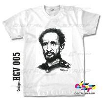 Remeras Reggae Selassie 5 Estampado Digital Stamp, Miralas!