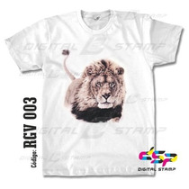 Remeras Reggae Lions 03 Estampado Digital Stamp, Miralas!