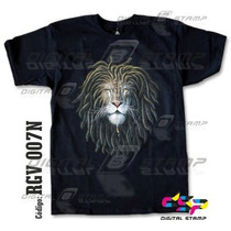 Remeras Reggae Lions 7 Estampado Digital Stamp, Miralas!