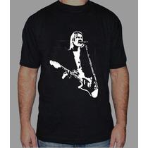 Nirvana Remera Estampada Con Vinilo Inalterable