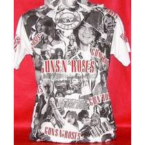 Remera Guns N Roses - Talle M - Medium (45 Cm X 64 Cm)