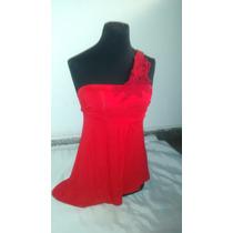 Straples Rojo Con Encaje - Unico !!!!! Talle M