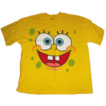 Remera Bob Esponja Original Nickelodeon Xl Importada Nueva!