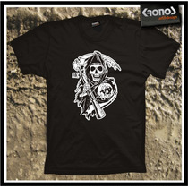 Remeras Sons Of Anarchy Series Tv Hijos De La Anarquia Soa