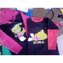Remeras Sapa Pepa-minie-kitty-disney-mafalda-m/larga T 2-12