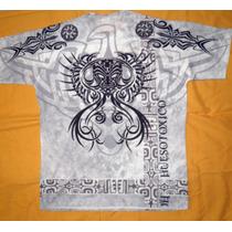 Remera Tribal Ying Yang - Tigre - Azteca Sublimadas Xxxl