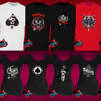 Remeras Motorhead Lemmy Estampado Transfer Metal Punk Heavy