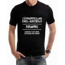 Las Pastillas Del Abuelo - Ferro Remeras Cal Premium H/mujer
