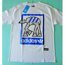 Remera Adidas Star Wars - Tanque Acorazado Todo Terreno- S