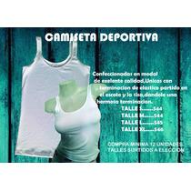 Camiseta Deportiva Modal Para Sublimar / Estampar