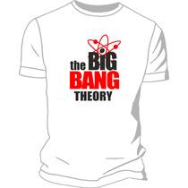 Remera Estampada Ploteada Sublimada The Big Bang Theory