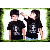 Remeras Avril Lavigne Punk Rock Para Niños Algodon Oferta
