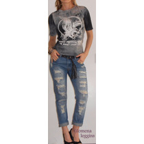 Musculosa-batik-remera-animal Print/ Lycra /tachas/f.leggins