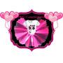 Remera + Tutu - Cumpleañeras- Personalizada - Monster High