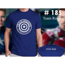 Team Rogers - Civil War - Capitan America Marvel Comics
