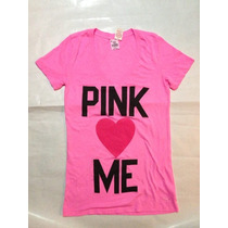 Remera Love Pink By Victoria
