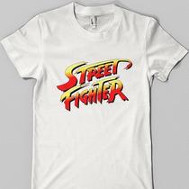 Remeras Retro - Street Fighter - Atari - Pumper Nic