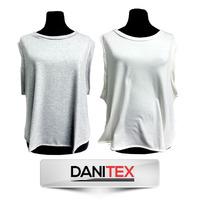 Musculosa Rockera Modal Importado, Para Sublimar. Danitex